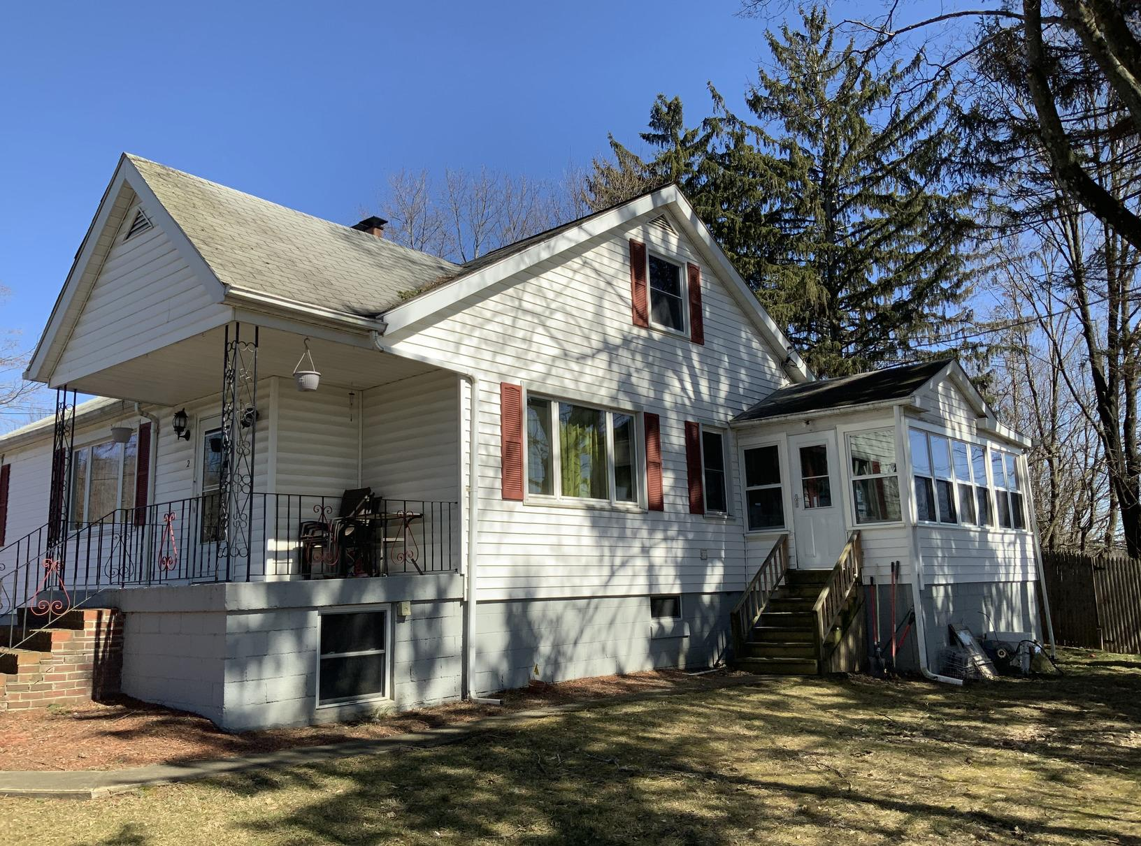 Colorful Roof Replacement in Poughkeepsie, NY - Before Photo