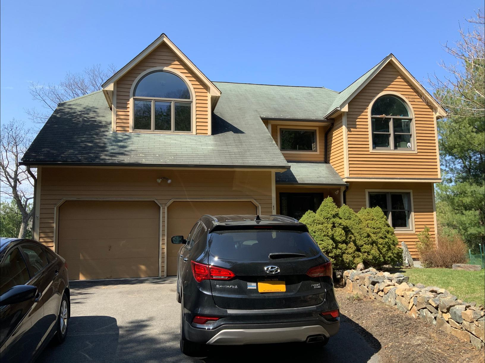 Shadow Brown Roof Replacement in Tuxedo Park, NY - Before Photo