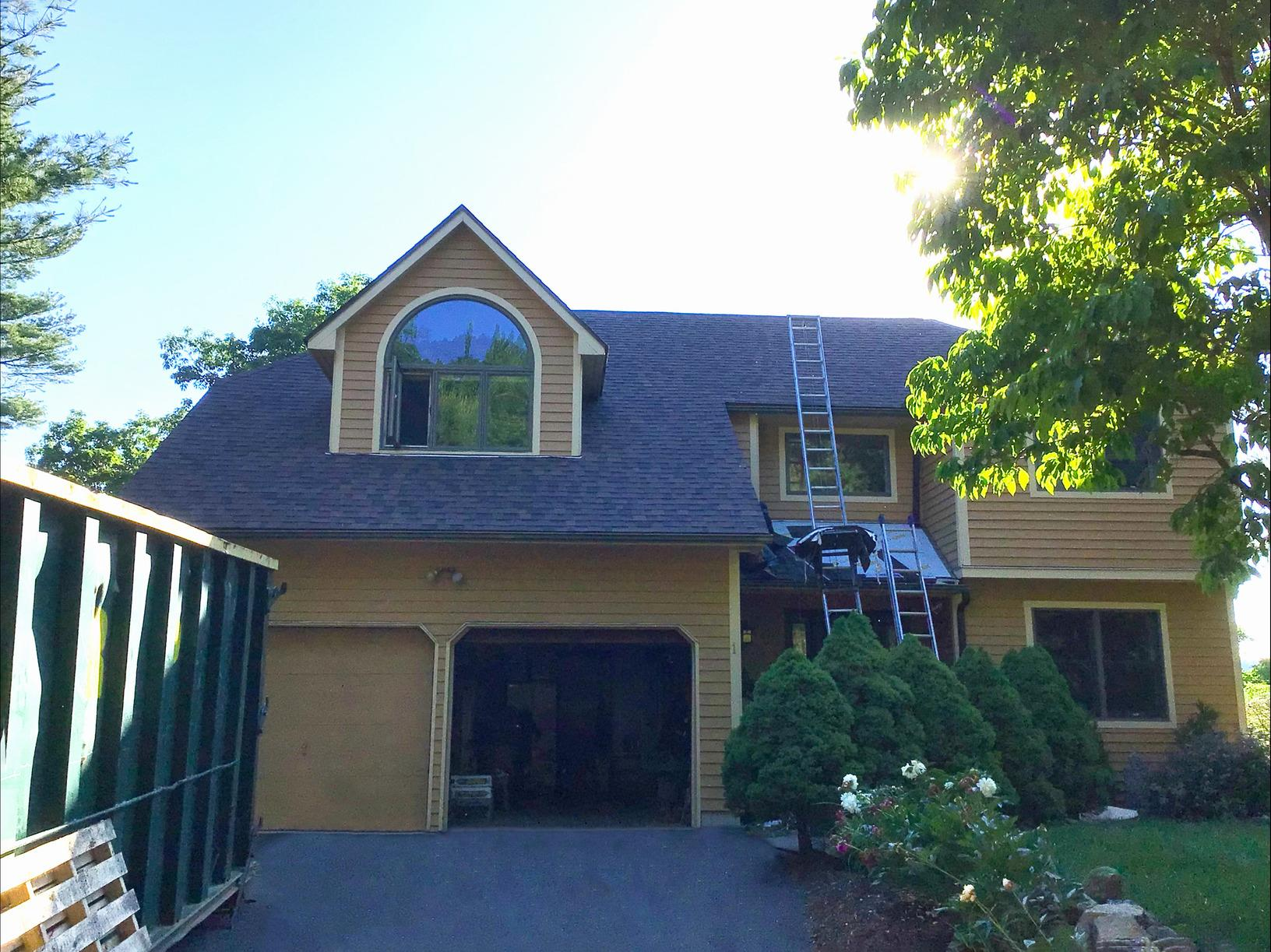 Shadow Brown Roof Replacement in Tuxedo Park, NY - After Photo