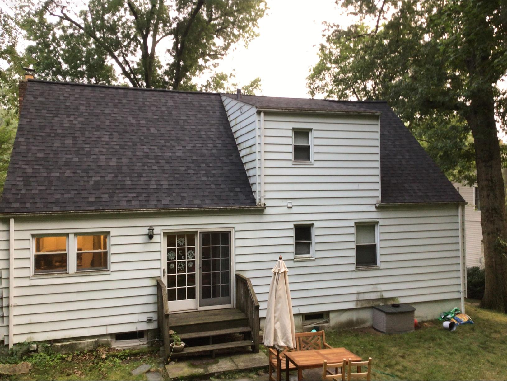 Mossy Roof Transformation in Tarrytown, NY - After Photo