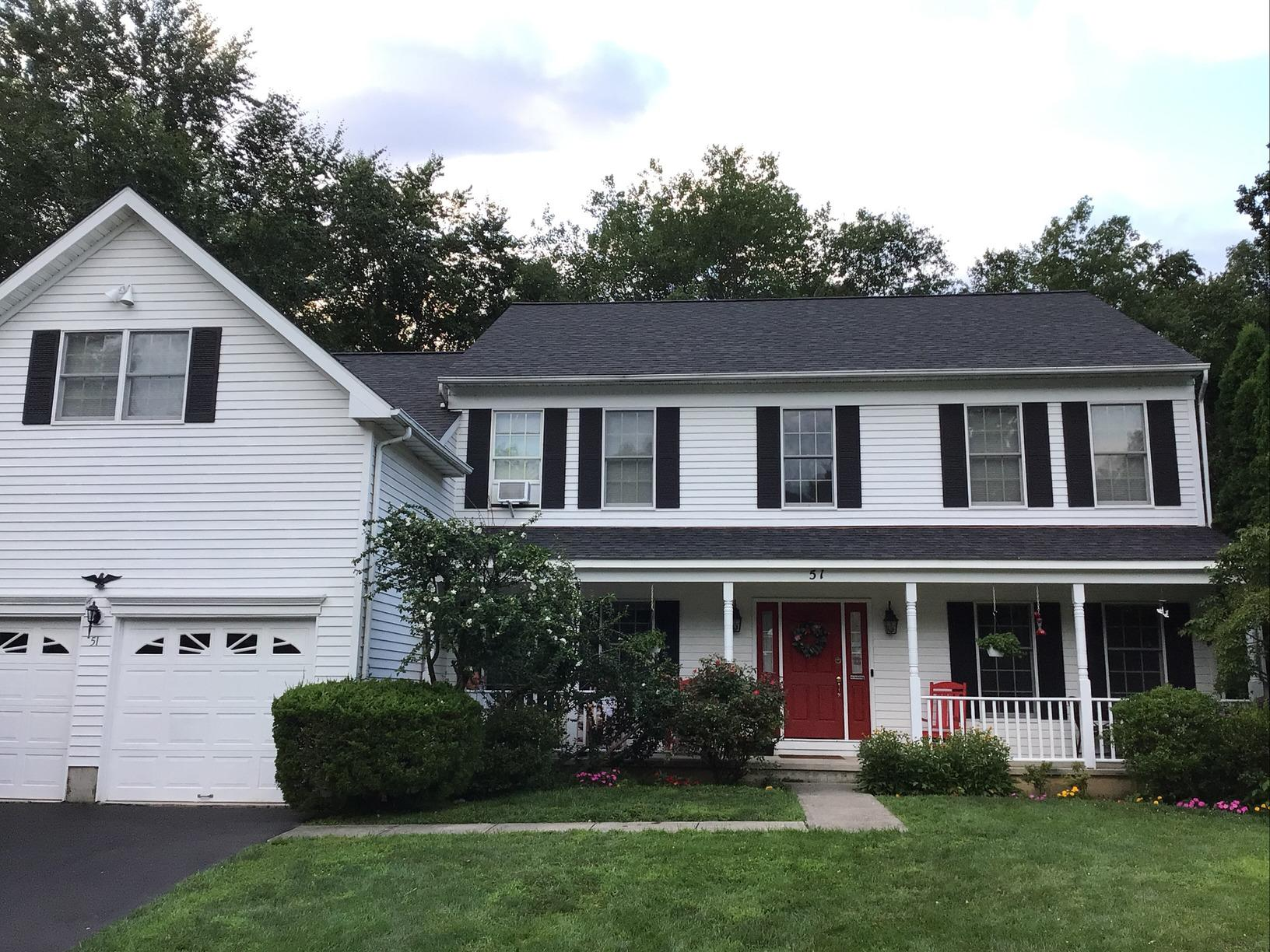 Granite Black Colonial Roof Replacement in White Plains, NY - After Photo