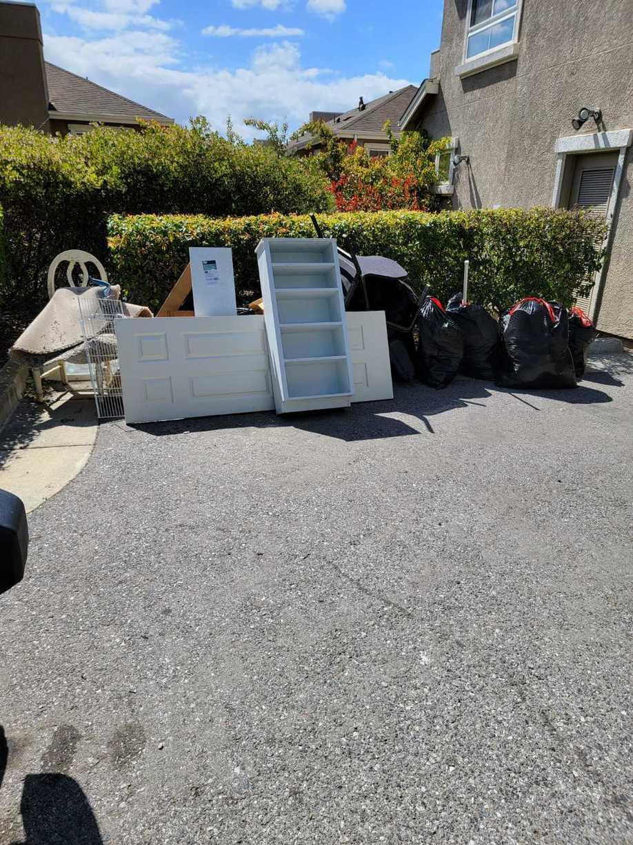 Curbside Pickup in San Jose - Before Photo