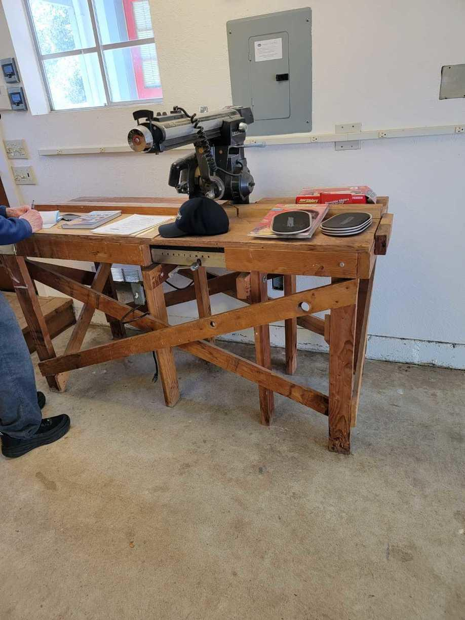 Table saw removal in Los Altos Hills, CA 94022, USA - Before Photo