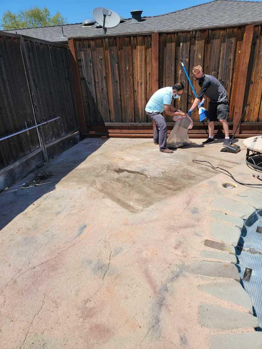 Hot tub removal in San Jose CA - After Photo