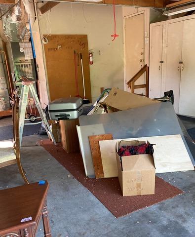 Garage items cleanout in Los Altos, CA