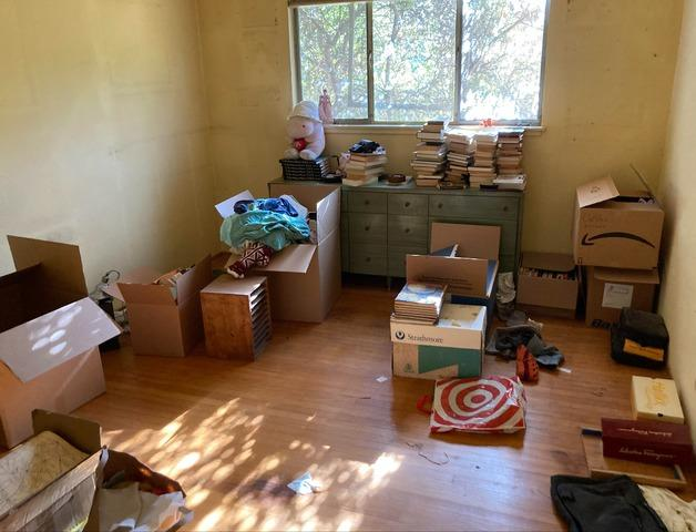 Bedroom cleanout in Mountain View, CA