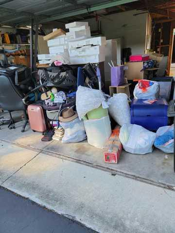 Garage Cleanout in Mountain View, CA
