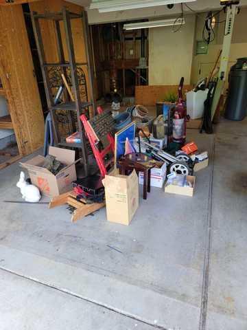 Garage Clean-up in Cupertino CA