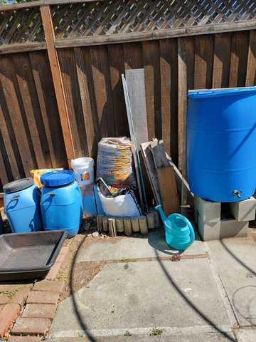 Yard Clean-up in Cupertino California