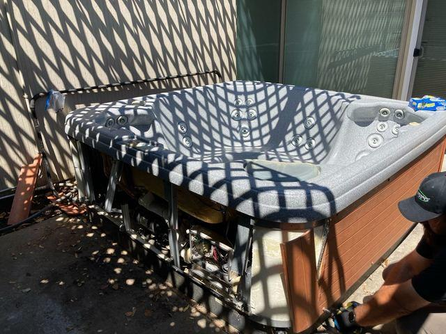 Hot tub removal in Sunnyvale, CA
