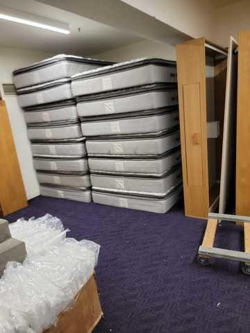 Mattress removal for Stanford University in CA