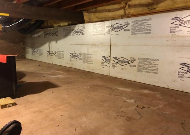 Removing Items From a Crawl Space in Plantsville, CT - After Photo