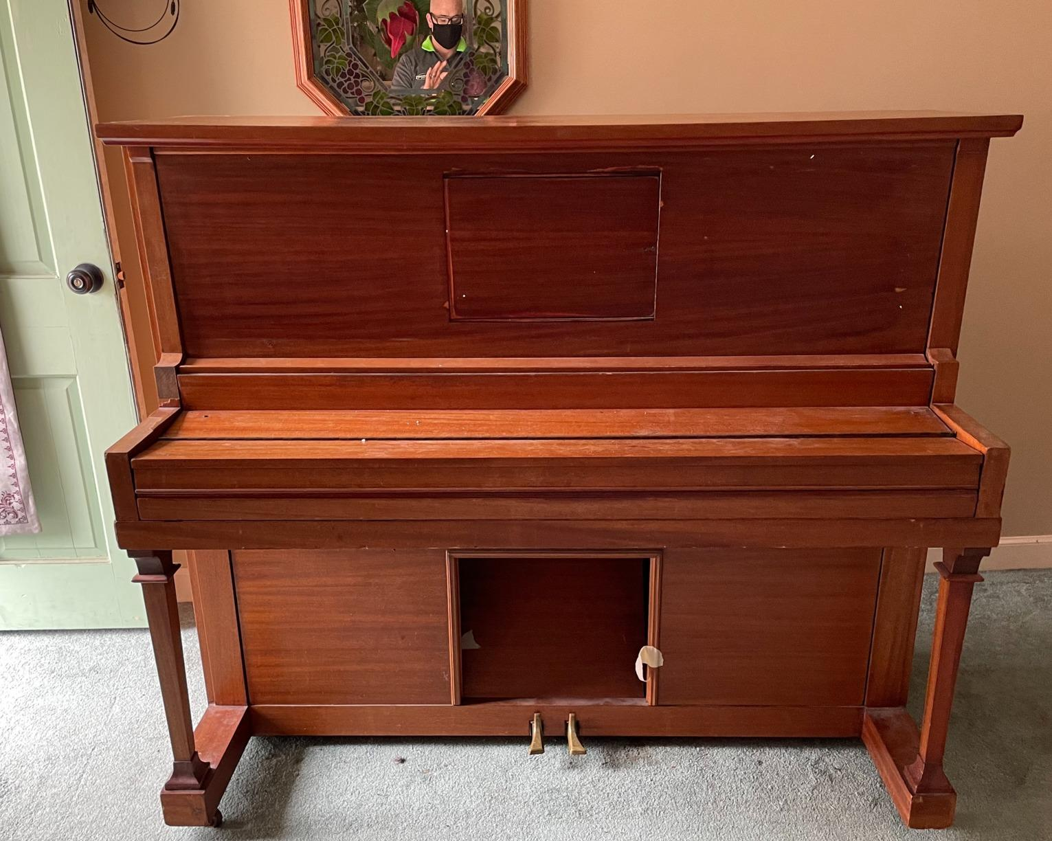 Piano Removal in New Britain, CT - Before Photo