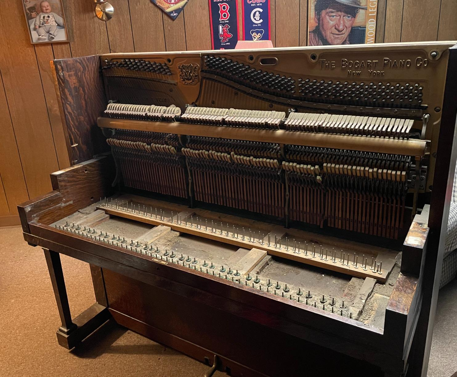 Piano Removal in Windsor Locks, CT - Before Photo