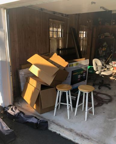 West Hartford, CT garage cleanup