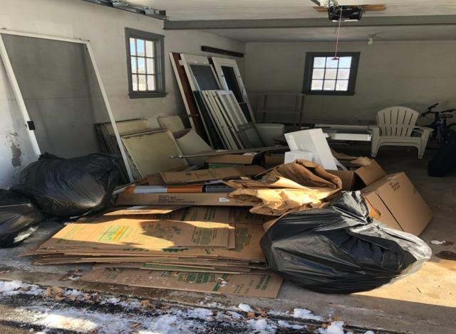 Clearing a Garage in West Hartford, CT