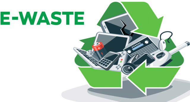 Picking up recyclable e-waste from Middletown, CT