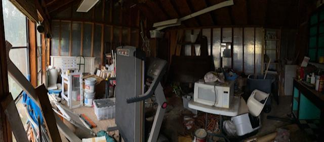 Total shed cleanout and junk removal in Dallas! - Before Photo