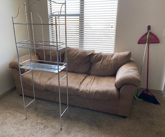 Furniture Removal from home in Dallas, TX - Before Photo