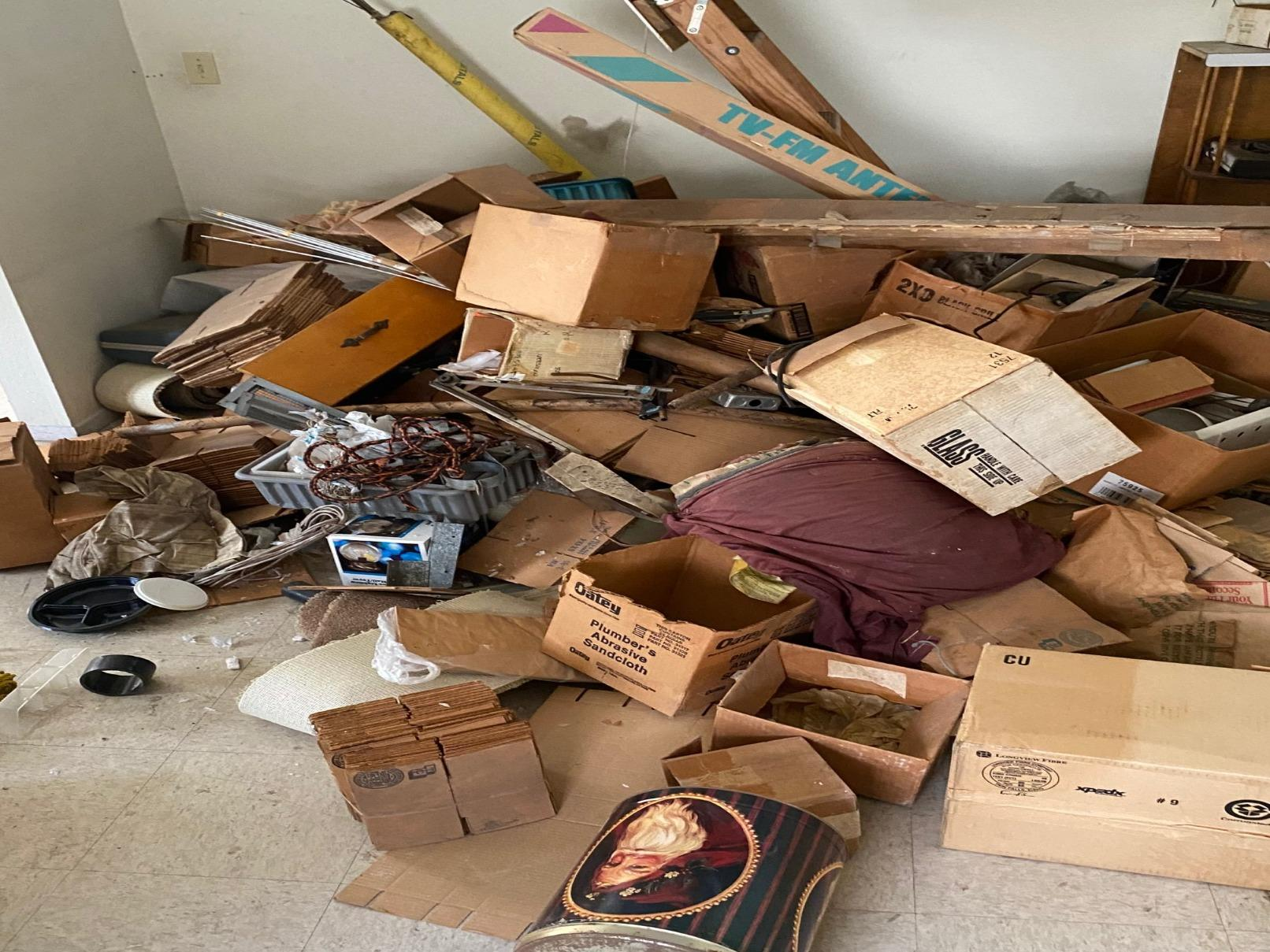 Junk Removal in Los Angeles, CA - Before Photo