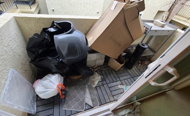 Patio clean-out in Sawtelle - Los Angeles, CA