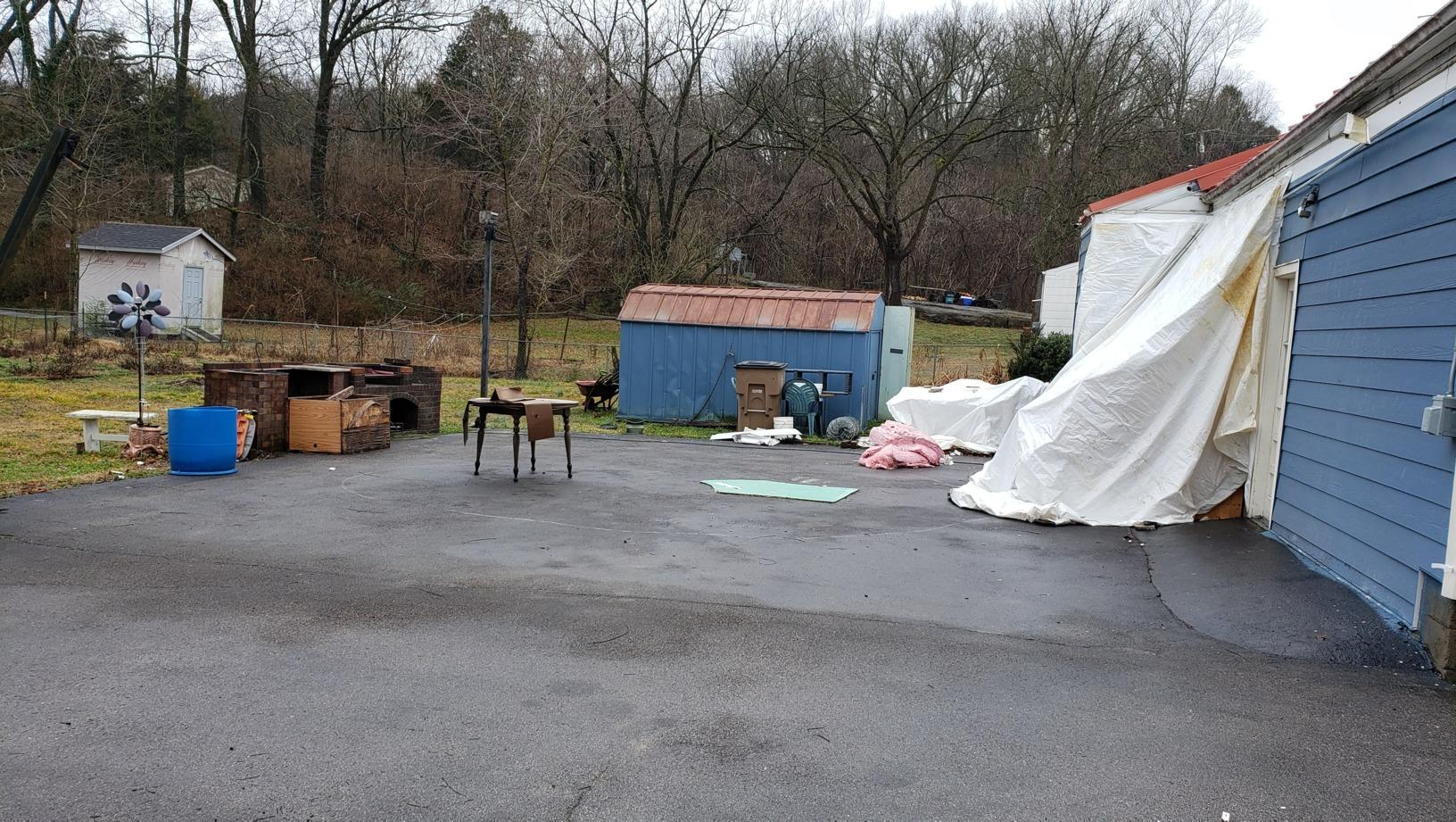 Collapsed Carport Removal in Nashville, TN - After Photo