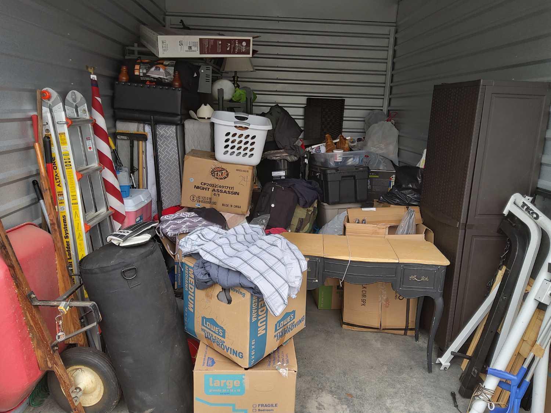 Storage Unit Cleanout Services in Nashville, TN - Before Photo