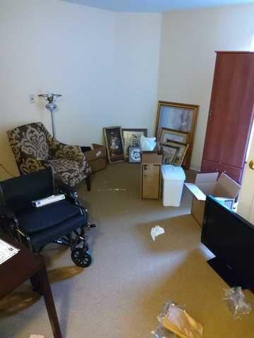 Senior Living Community Apartment Clean Out in Brentwood, TN