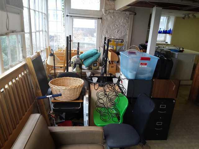 Basement apartment clean out in prep for a move in Nashville, TN
