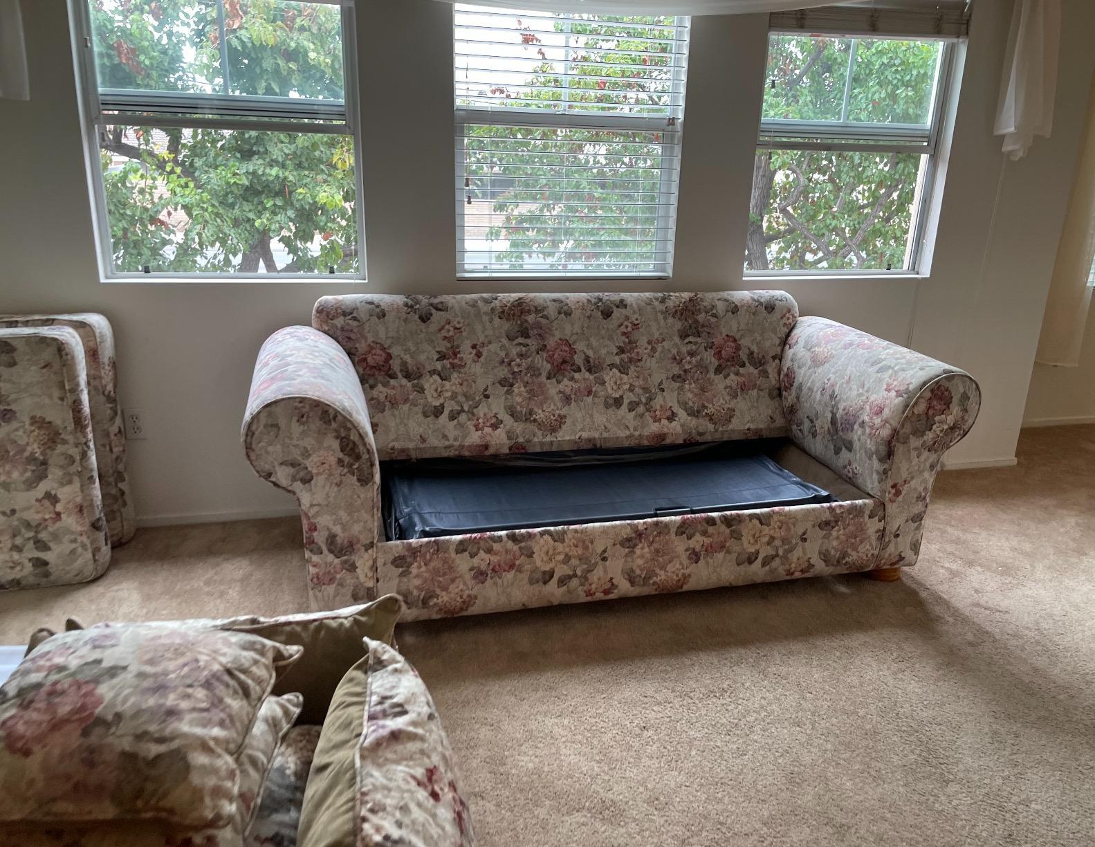 Furniture Removal Services in Cerritos, CA. - Before Photo