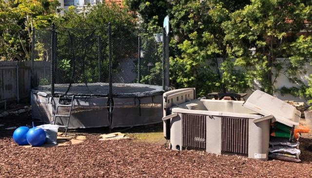 Hot tub and trampoline removal services, Rancho Palos Verdes Estates, CA