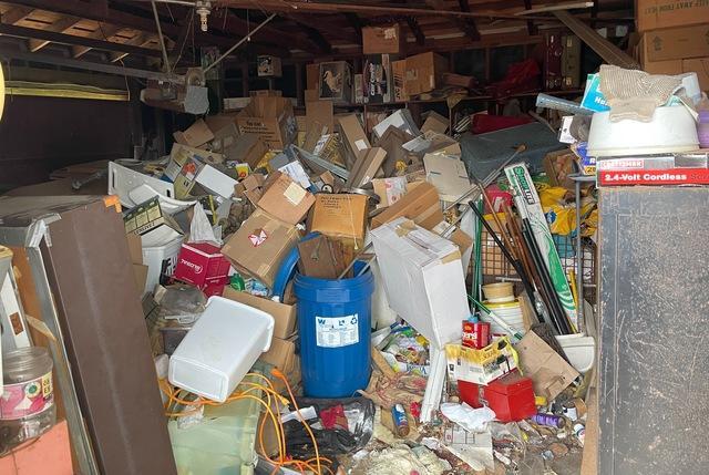 Garage Cleanout in Rancho Palos Verdes, CA.