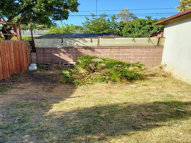 Junk Removal in Whittier, CA - After Photo