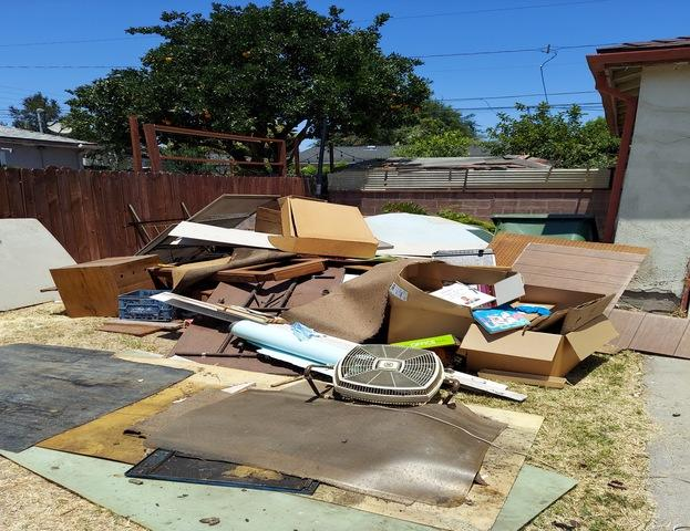 Junk Removal in Whittier, CA - Before Photo
