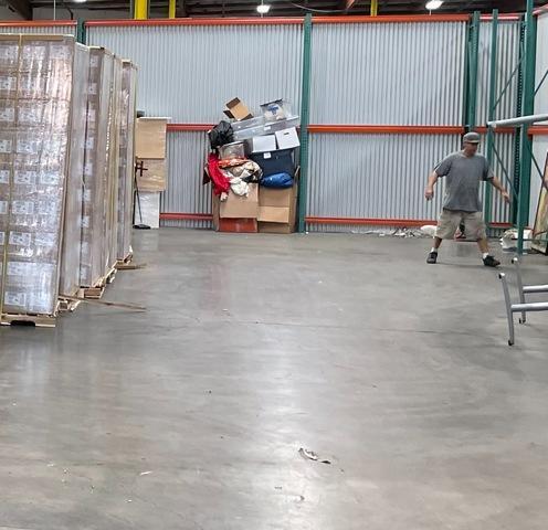 Storage unit cleanout service in Southgate, CA.