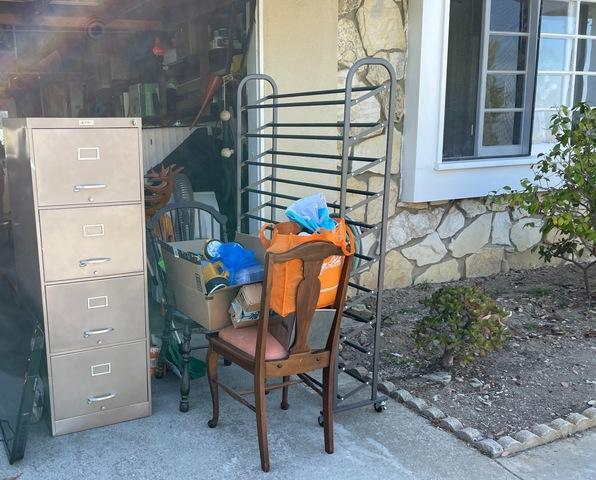 Junk Removal Service in Rancho Palos Verdes, CA. - Before Photo