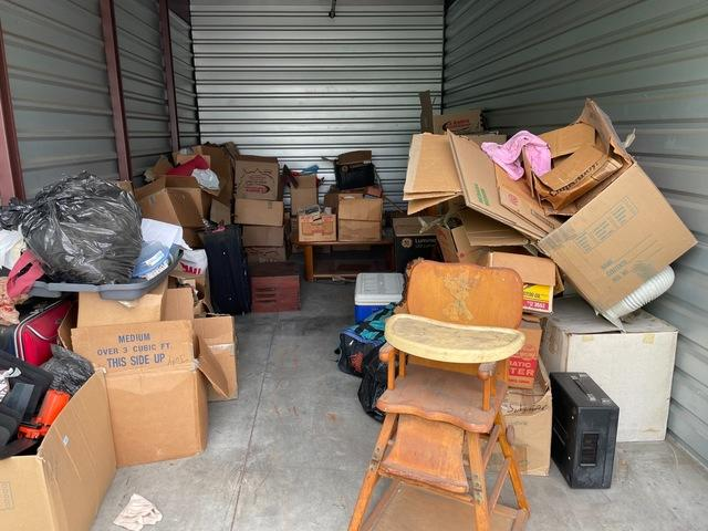 Storage unit cleanout service in Downey, CA.