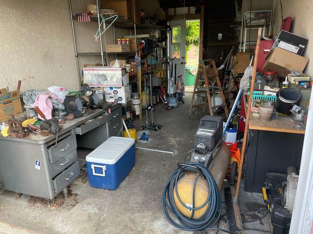 Garage Cleanout in Torrance, CA.