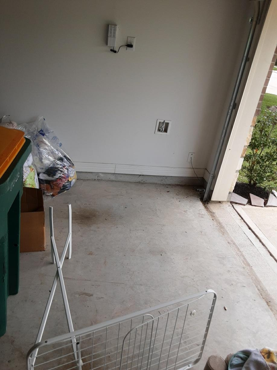 Garage cleanout in Pearland, TX - After Photo