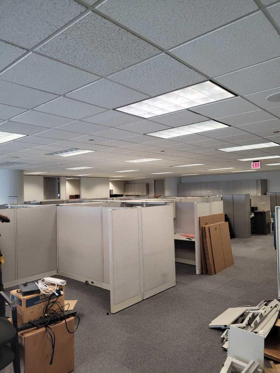 Office Cleanout in Houston, TX - Before Photo