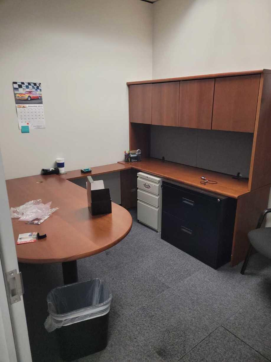 Office Cleanouts in Houston, TX - Before Photo