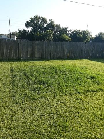 Trampoline removal in Houston, TX - After Photo