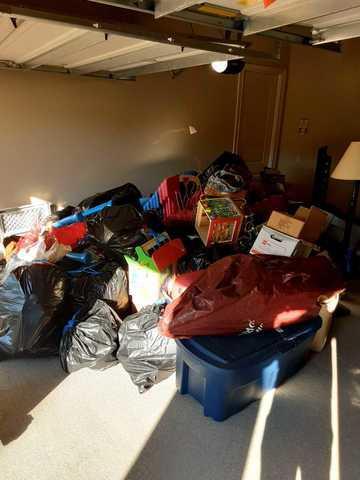 Garage cleanout in Missouri City, TX