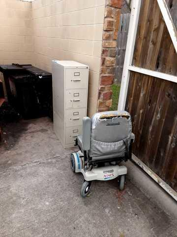 Senior Living community junk disposal in Katy, TX