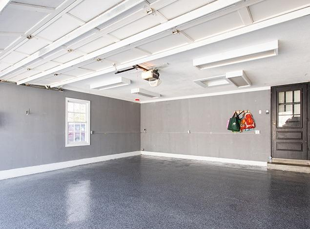 A Durable Garage Floor Coating That Looks Beautiful - After Photo