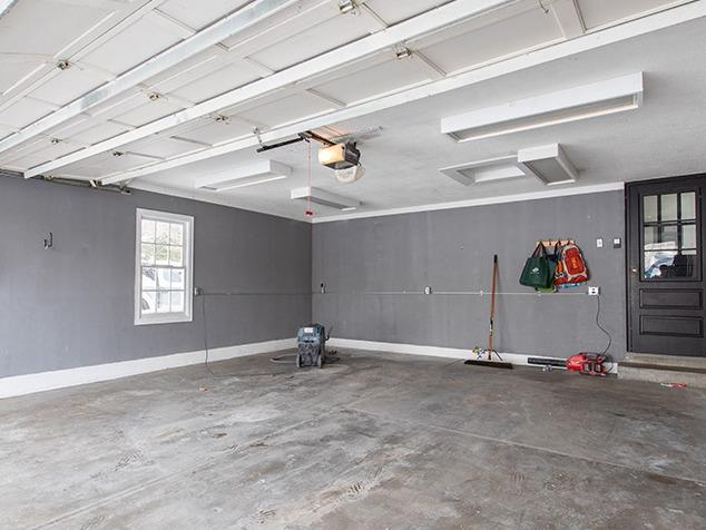 A Durable Garage Floor Coating That Looks Beautiful - Before Photo