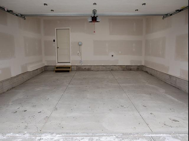 Complete Garage Renovation - Before Photo