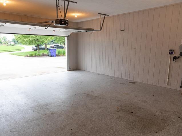 Full Garage Renovation - Before Photo
