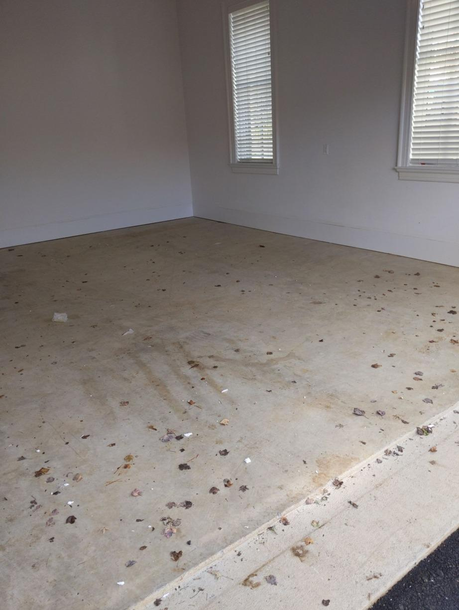 A Stained Floor is Beautiful for Years to Come in McLean, VA - Before Photo