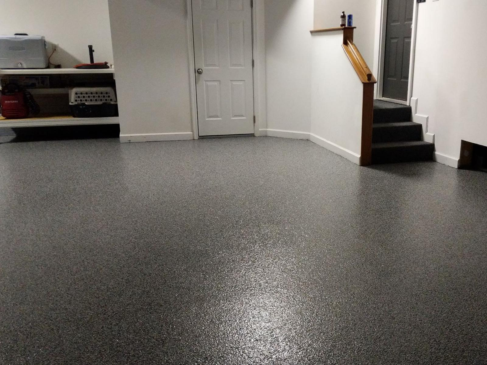 The Solution for This Garage Suffering from Epoxy Floor Problems in Seaford, DE - After Photo
